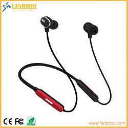 Écouteurs stéréo Bluetooth® sans fil Neck-Band le temps de lecture de 8 heures pour une salle de gym Noise-Cancelling/Cyclisme/en marche/jogging