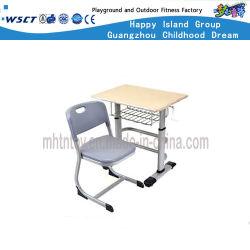 Metallklassenzimmer-Möbel-Kursteilnehmer-Tisch und Stuhl eingestellt (HF-07904)
