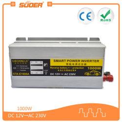 Suoer 1000W 12V LED 전자 표시 힘 태양 변환장치 (STA-E1000A)