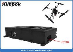 HD inalámbrica Cofdm Transmisor y receptor de AV 1080P para UAV / Drone / Ugv