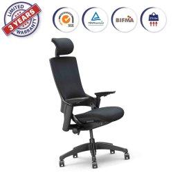 Hauteur ajustable Tête reste & La maison de repos du bras de chaises de bureau fauteuil pivotant de sièges de la Conférence (247-C BF)