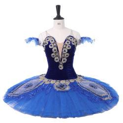 Новый уникальный дизайн женщин девочек Professional Синяя птица балет Туту костюмы
