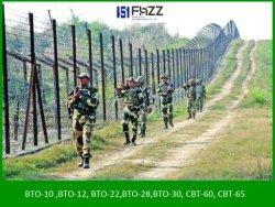 الهند وباكستان الحدود كونسرتينا وحيدة تزيح أسلاك رازر
