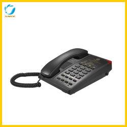 CPU制御を用いるを用いる現代ホテルの寝室の電話