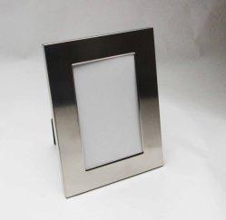 Frame da foto do aço inoxidável 4r do cetim