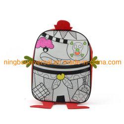 教育おもちゃを塗るDIYのデッサンはカスタムバックパック袋をからかう