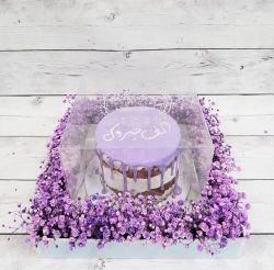 Het duidelijke AcrylVoedsel behandelt de AcrylVertoning van de Cake