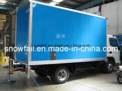 Camión de carga seca en forma de panal de fibra de vidrio Cuerpo/Box
