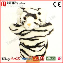 Förderung-Spielzeug angefüllte Tiger-Finger-Handmarionette von China Yangzhou
