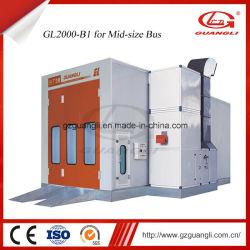 Commerce de gros de pulvérisation de voiture de qualité supérieure professionnelle Four Stand pour bus de taille moyenne avec la CE (GL2000-B1)