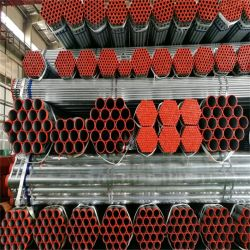 Fabricante da China Non-Alloy pintura preta de Óleo do Tubo de Aço Redonda/tubos para estruturar