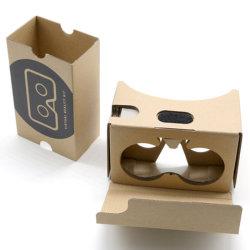 La réalité virtuelle VR VR de marque Lunettes 3D en carton carton Google V2 lunettes 3D VR