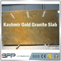 Importação de Ouro da Caxemira indiana de granito lajes de granito para decoração de interiores