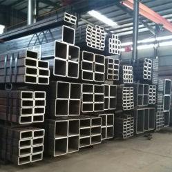 Tuyaux carrés de la Construction en acier au carbone du fer
