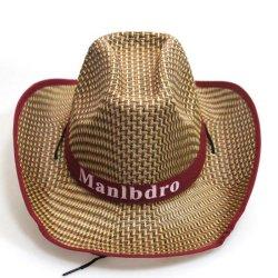 夏の品質の絶妙なアクセサリは牧草地旅行カウボーイのペーパー麦わら帽子をくり抜く