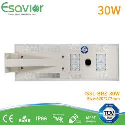 IP66 imprägniern 40W alle in einem integrierten im Freien Solar-LED-Straßen-Flut-Garten-Licht mit Batterie LiFePO4 u. Bewegungs-Fühler