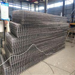 Galvanizado de acero de la fábrica de refuerzo de hormigón de mallas de alambre de metal