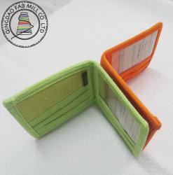 Nieuwe mode-hennep-portemonnee van hoge kwaliteit, 2-voudig