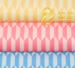 Hochwertige Schrumpfende-Resistente Einkaufstasche Material Mode Floral Bedruckte Stoffe Korean Velvet 100% Polyester Heimtextilien 32s