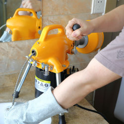 항저우 타이거 킹 전기 하수구 뱀 파이프 배수관 청소 기계 판매