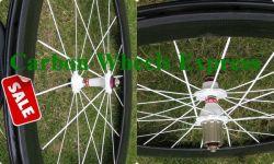 60mm 탄소 도로 자전거 바퀴