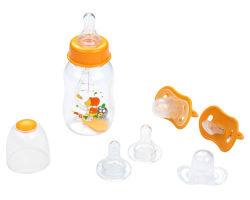 Biberon e tettarella infantile per l'allattamento