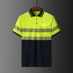 Vestuário Hivis camisa Polo com Fitas reflectoras