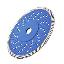 Китай производитель металлокерамические горячей нажат Corrugation в рывок сварки Diamond пильного полотна