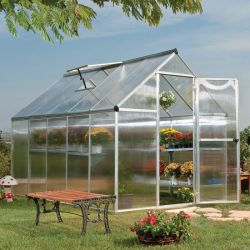 10mm Twin Wall Hollow Polycarbonate Plastic Sheet for Agriculture Greenhouse (PC)