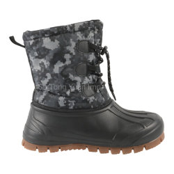 Bottes d'hiver neige OEM bottes bottes souples des bottes en cuir chaud pour les femmes pour les hommes