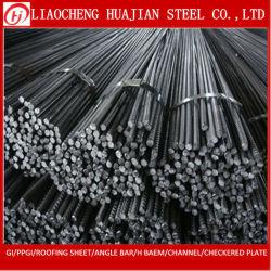 건축재료를 위한 모양없이 한 강철 철 Rebar를 강화하는 ASTM Gr40 Tmt 둥근 바