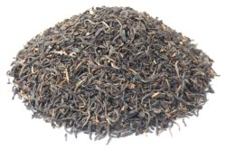 China chá preto orgânico de folhas soltas de Yunnan Op chá preto