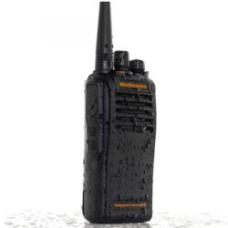 IP67 profissional à prova de pó Walkie Talkie à prova de água portátil UHF/VHF Rádio de Duas Vias 5 Watts 6 Km Série 2600mAh