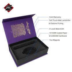 Cajas de embalaje de cartón personalizadas cierre magnético Caja de papel de regalo con EVA Insertar
