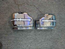 Coperchio dello specchio del nero del bicromato di potassio degli accessori dell'automobile con il LED per Jimny