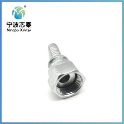 Adaptador de manguera hidráulica conjunto de la manguera de caucho de alta presión