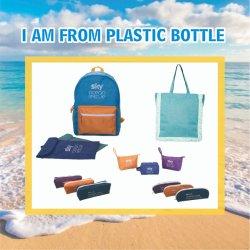 100% RPET Eco-Friendly reciclados viagens impermeável Shopper Sacos de carvão