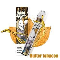 Fabricante original Venda por grosso cigarros eletrónicos de Pape Vape descartáveis com luzes Hippobar 1000 puff
