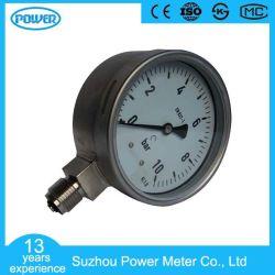 100mm de acero inoxidable completo Manómetro indicador de presión seco