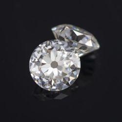 Custom Gra сертификат квалифицированных большого размера D внешний вид старой европейской вырезать Moissanite алмазов
