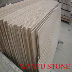 G682 durazno Oro Tina granito paneles Surround