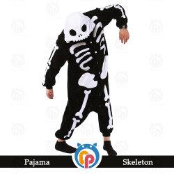 Vacances d'Halloween adulte personnalisé caricature de gros squelette Costume effrayant parti
