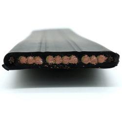 Goede oliebestendigheid 6 kernen transportkabels met vlakke elevator, hijskabel PVC-isolatie PVC-mantel flexibele kabel voor kraan