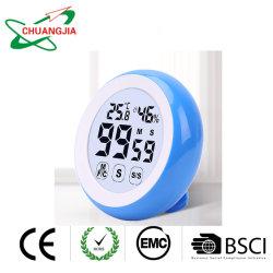 Reloj temporizador magnético con ajuste de alarma alto y grande LCD con retroiluminación dígitos