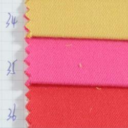 Baumwolltwill gefärbtes Gewebe der Textilform-Aktien-100 für Kleid-Gewebe und Jeans-Gewebe und konstante Gewebe