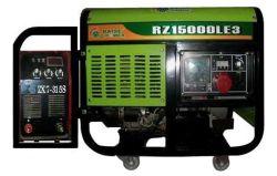 Van de Diesel van Raise10kw 10~315A Diesel van de Eenheid van de Machine van het Lassen Generator van de Macht de Twee doelen dienende Generator van het Lassen