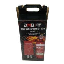 Extintor de incendios pequeños personalizado Embalaje Caja de papel corrugado