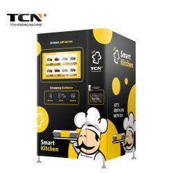 TCN Hot Sale 자동 패스트푸드 조식 런치 박스 자판기 기계