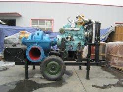 Moteur diesel chariot portable du générateur de petite remorque de camion de la pompe de sable