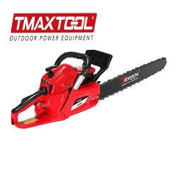 منشار سلسلة قطع شجرة القدرة الكبيرة الاحترافية Tmaxtool 72cc